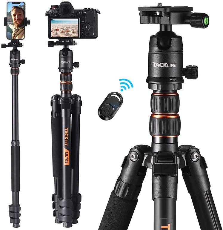 Tacklife MLT05 Kamerastativ (1,5kg, max. 178cm, 8kg) für 59,99€ inkl. Versand (statt 70€)
