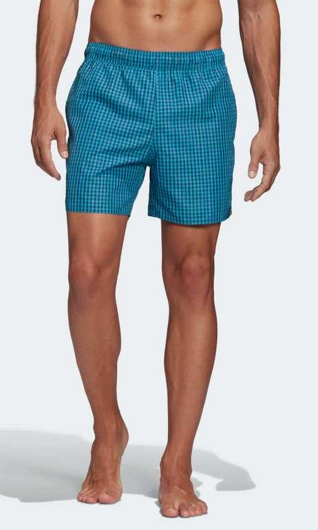 adidas Check CLX Herren Badeshorts in Blau für 18,18€ inkl. Versand (statt 30€) - Creators Club!