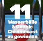 Die Gewinner: Google Chromecast 2 & 11 dealbunny.de Wasserbälle zu gewinnen