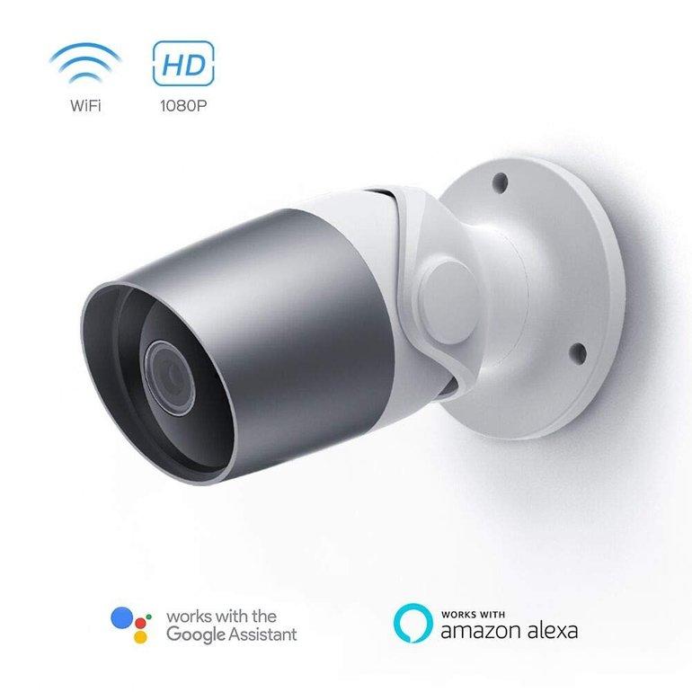 Panamalar 1080P WiFi Outdoor Überwachungskamera mit Mikrofon für 44,99€ inkl. Versand