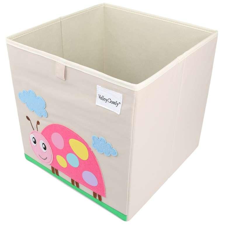 Valleycomfy Aufbewahrungsbox / Spielzeugkiste (33 x 33 x 33 cm) für nur 8,49€ inkl. VSK - Prime!