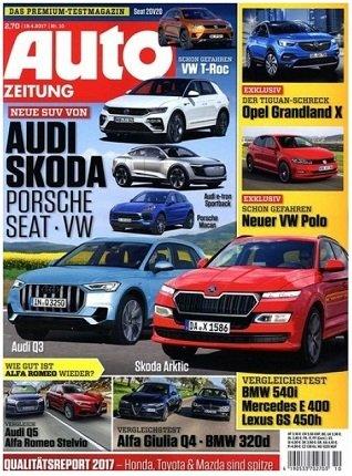 """28 Ausgaben """"Auto Zeitung"""" für 86,80€ + 80€ Cashback (nach 8 Wochen)"""