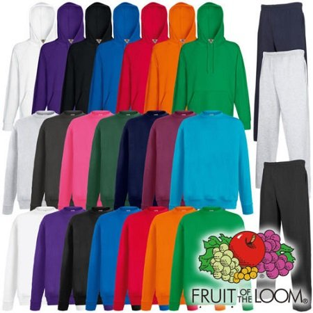 Fruit of the Loom Lightweight Hoody, Sweater oder Jogginghose für je nur 8,88€