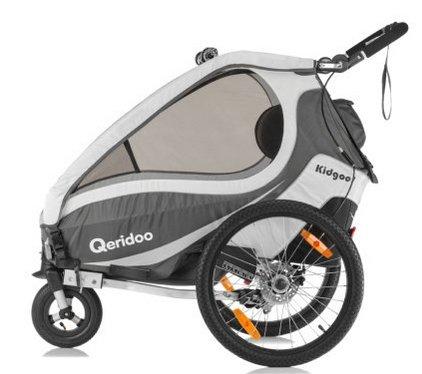 Qeridoo Kidgoo 1 Sport Kinderfahrradanhänger für 290,99€ (statt 358€)