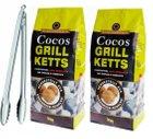 6kg Cocos Grill-Briketts + Rösle Grillzange nur 19,99€ inkl. Versand