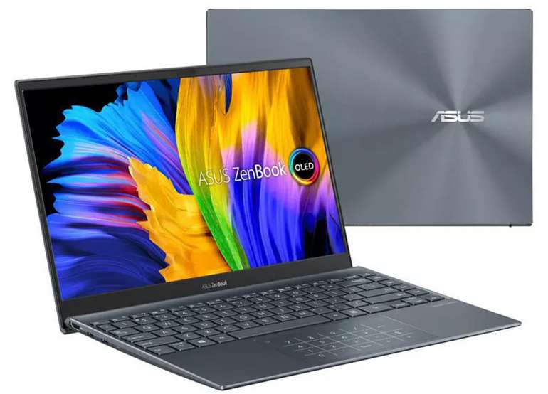 Asus ZenBook 13 OLED UX325EA-KG327T Notebook mit 13,3 Zoll (i5 Prozessor, 16 GB RAM, 512 GB SSD) für 799€
