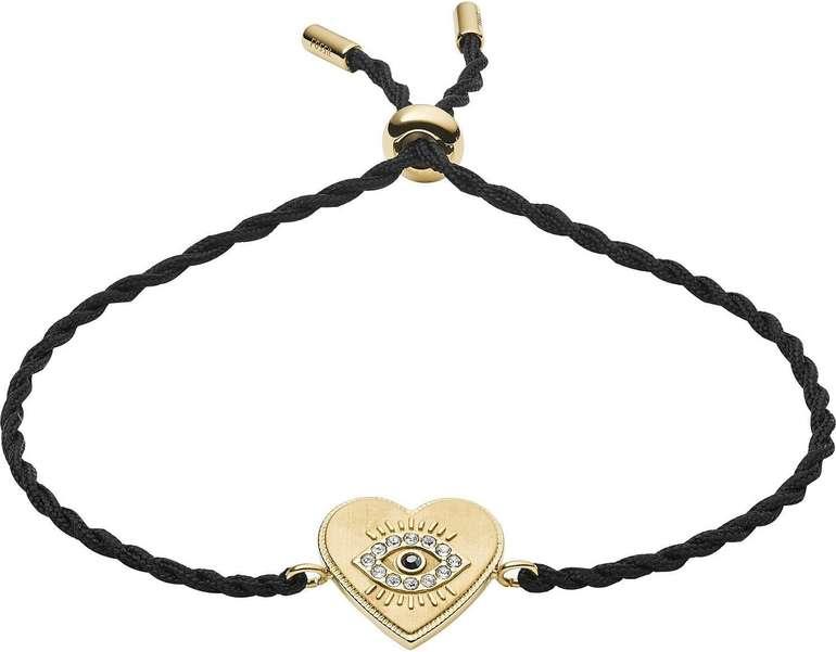 "Fossil ""Luck in Love"" Armband (JF03235710) für 9,60€ inkl. Versand (statt 17€)"
