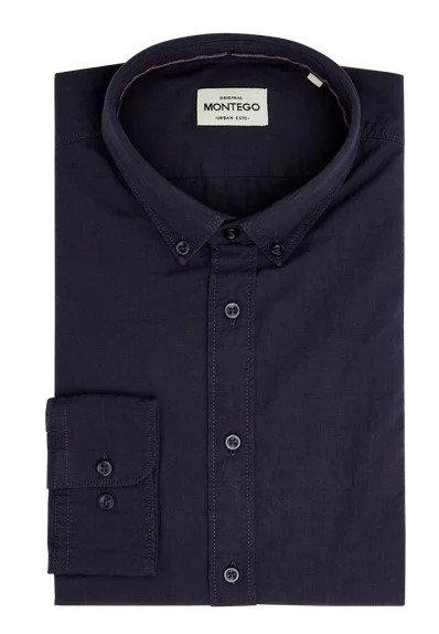 Montego Slim Fit Herren Freizeithemd aus Baumwolle für 7€ (Gr. XL - 3XL)