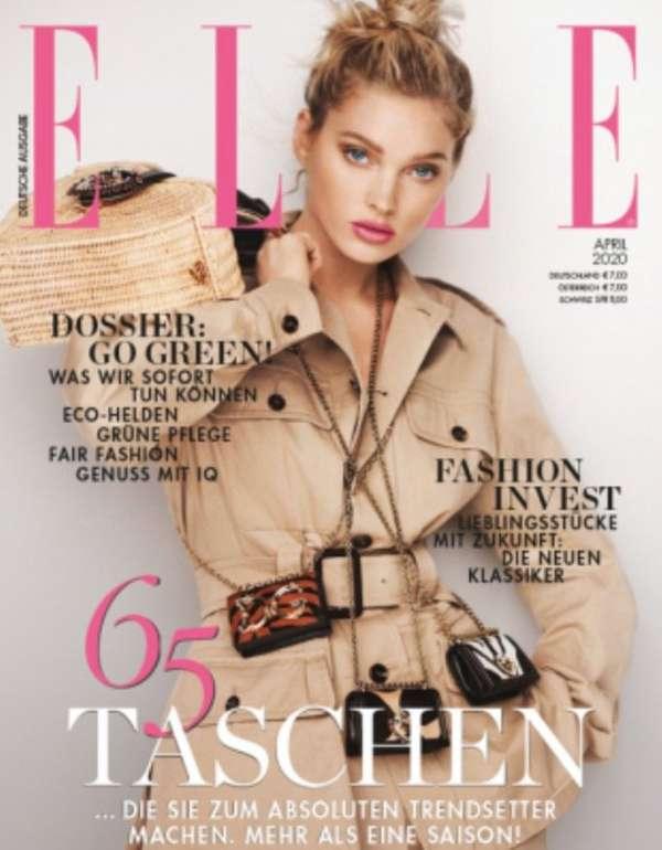 """Zeitschriften Abo: 12 Ausgaben """"ELLE"""" für 84€ + 70€ Verrechnungscheck"""