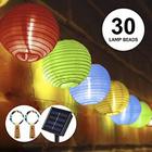 Ofun LED Solar Laternen Lichterkette (6,5m, Multi-Color) für 9,99€ (statt 20€)