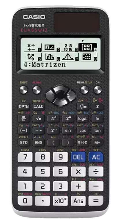 Casio FX-991DE X Taschenrechner für 24,83€ inkl. Versand (statt 28€)