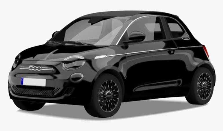 Privat- und Gewerbe- Leasing Sonderangebote bei Vehiculum - z.B. Fiat 500 Elektro für 99€ mtl. (LF: 0,41)