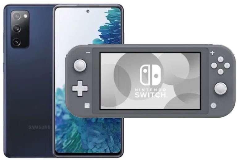 Samsung Galaxy S20 FE + Nintendo Switch Lite (49€) + Vodafone Allnet Flat mit 6GB LTE für 26,99€ mtl.