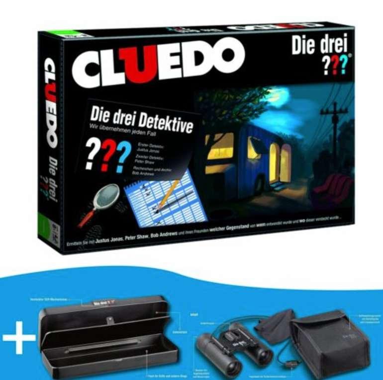 Cluedo die drei ??? Bundle mit Detektiv-Fernglas und Geheim-Box für 34,99€ inkl. Versand (statt 50€)