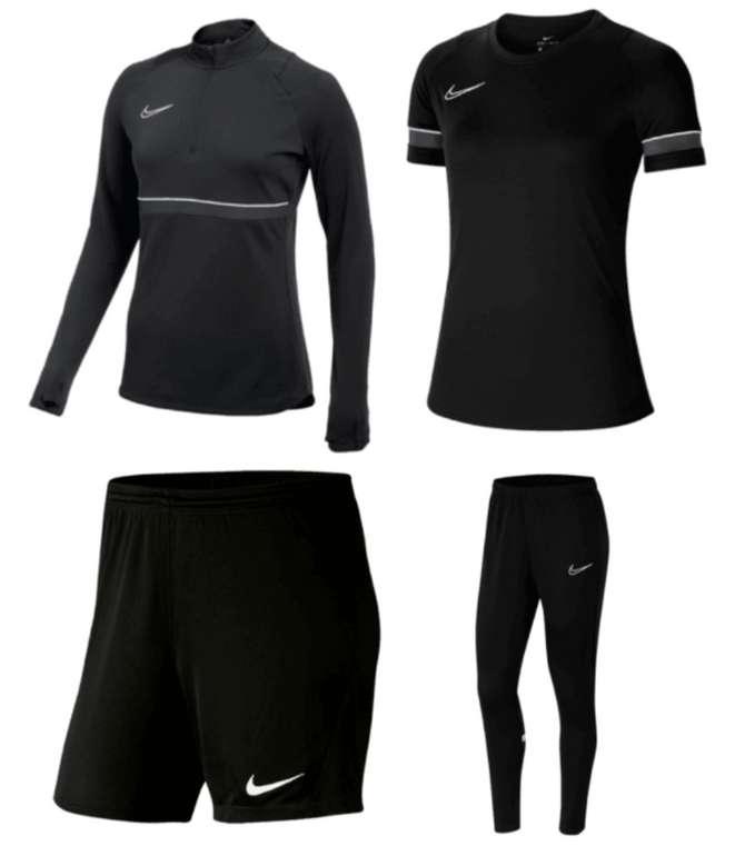 Nike Damen & Herren Trainingsset Academy 21 (4-teilig) in vers. Farben für 59,95€ (statt 70€)