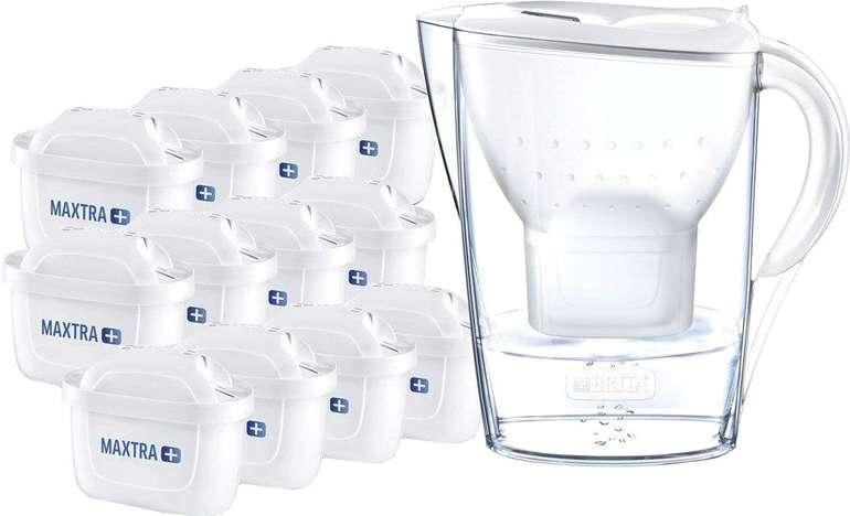 Brita fill&enjoy Marella Cool White Jahrespaket mit 12 Kartuschen für 49,99€