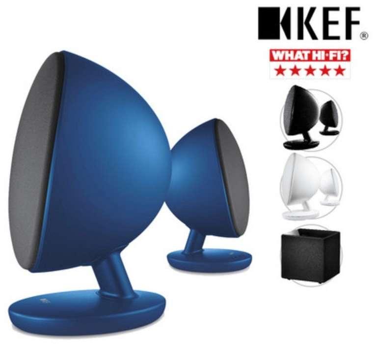 KEF EGG Active 2.0 Desktop-Bluetooth-Lautsprecher für 178,90€ oder Kube8b-Subwoofer für 358,90€