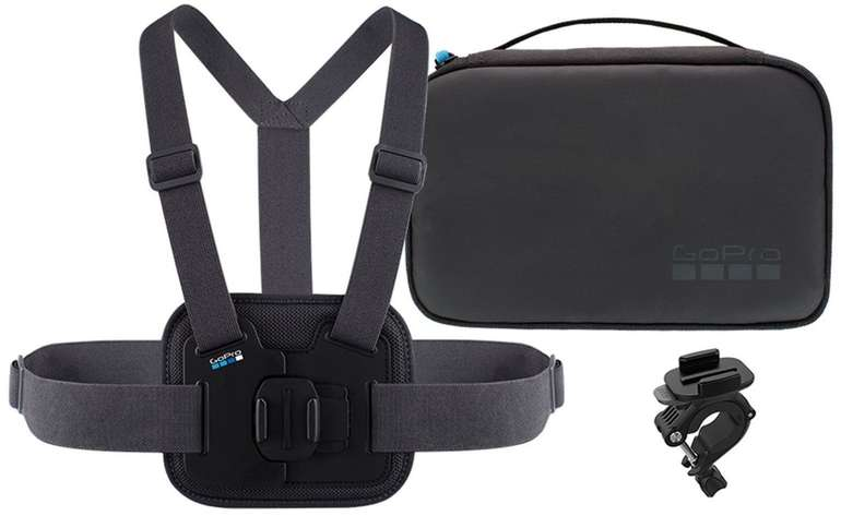 GoPro Sports Kit (Tasche, Chesty, Rohrhalter) für 38,63€ inkl. VSK (statt 47€)