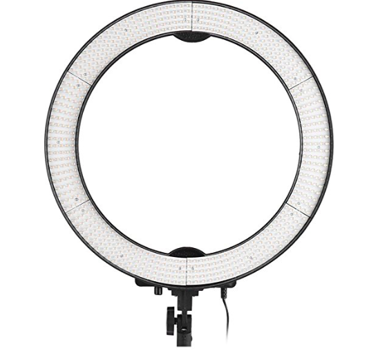 Andoer LA - Fotostudio Ringleuchte mit 600 LEDs für 70,19€ (statt 117€)