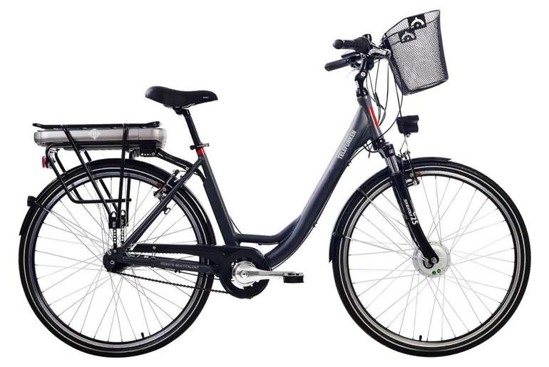 "Telefunken RC657 Multitalent - 28"" Damen City E-Bike mit 250 Watt für 899,99€ inkl. Versand (statt 1.099€)"