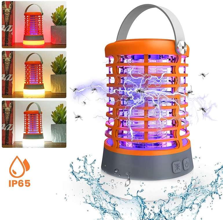 Solmore elektrische Mückenlampe (3 Modi, 2200 mAh) für 15,59€ inkl. Prime Versand (statt 22€)