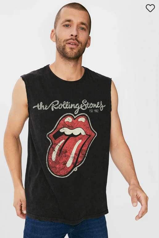 Rolling Stones Herren Tanktop ab 5,24€ inkl. Versand (statt 15€)