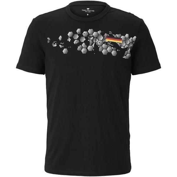 Tom Tailor T-Shirt 'EM' in mischfarben für 7,57€ inkl. Versand (statt 17€)