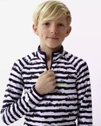 Wedze Skiunterhemd Kinder Funktionsshirt mit 1/2 Reißverschluss für nur 9,98€inkl. Versand (statt 19€)