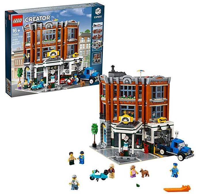 Lego Creator Expert (10264) Eckgarage für 140,10€ inkl. Versand (statt 169€)