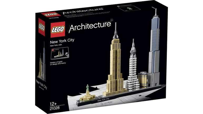LEGO Architecture - New York City (21028) für 31,52€ inkl. Versand (statt 37€)