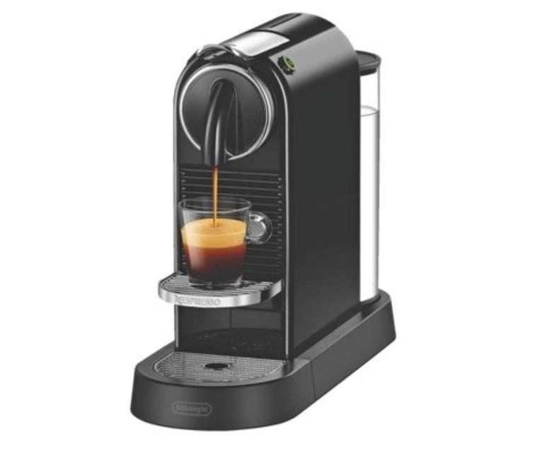 Nespresso Kapselmaschine Citiz EN167.B + 40€ Kaffeeguthaben für 88,98€ (statt 105€)