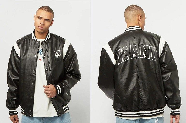 Karl Kani OG Fake Leather Jacket 2