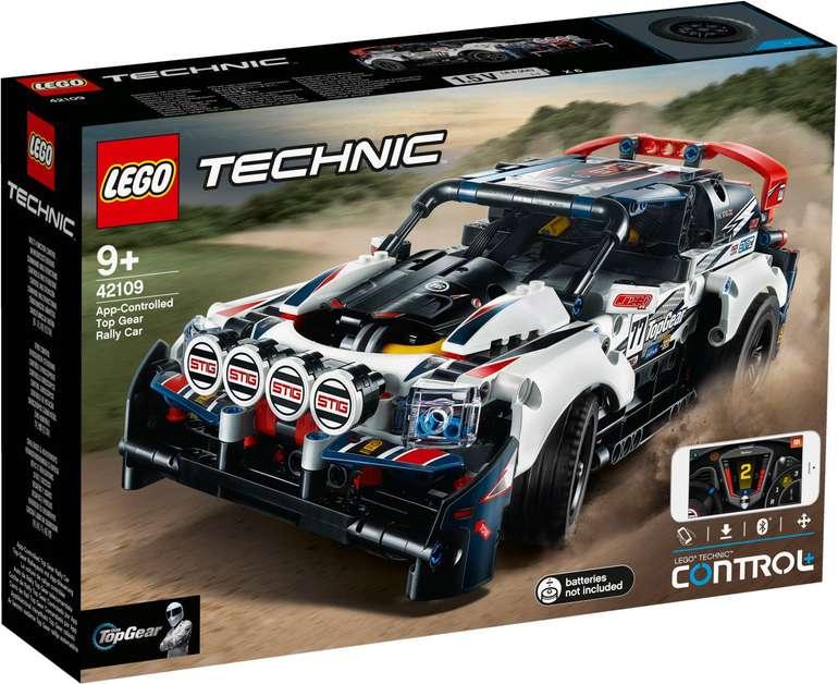 Lego Technic - Top-Gear Ralleyauto mit App-Steuerung (42109) für 77,38€ inkl. Versand (statt 90€)