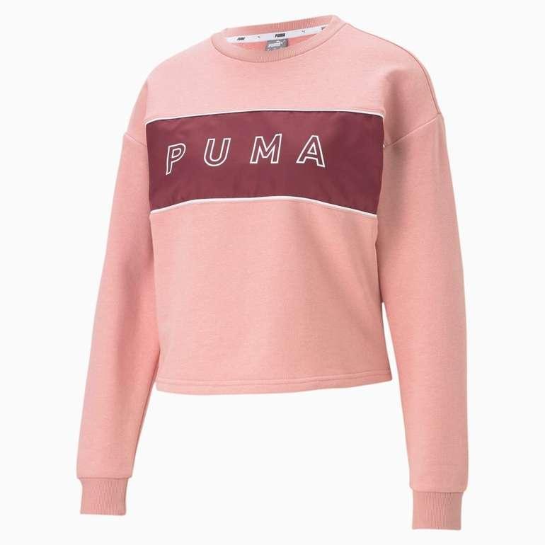 Puma Style Cat Satin Damen Sweatshirt für 30,67€ inkl. Versand (statt 36€)