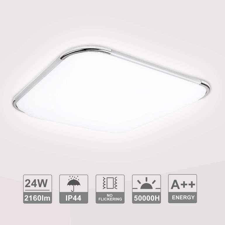 Hengda LED Leuchten mit Rabatt, z.B. 24W eckig für 18,19€ inkl. Versand
