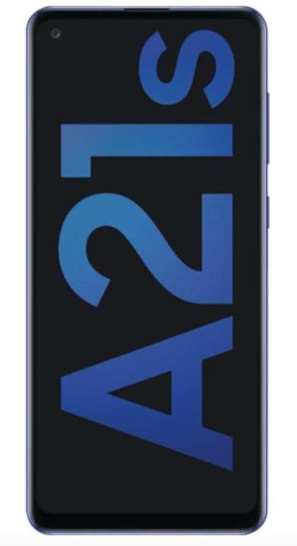 Samsung Galaxy A21s (9€) + o2 Allnet- und SMS Flat mit 6GB LTE für 9,99€ monatlich
