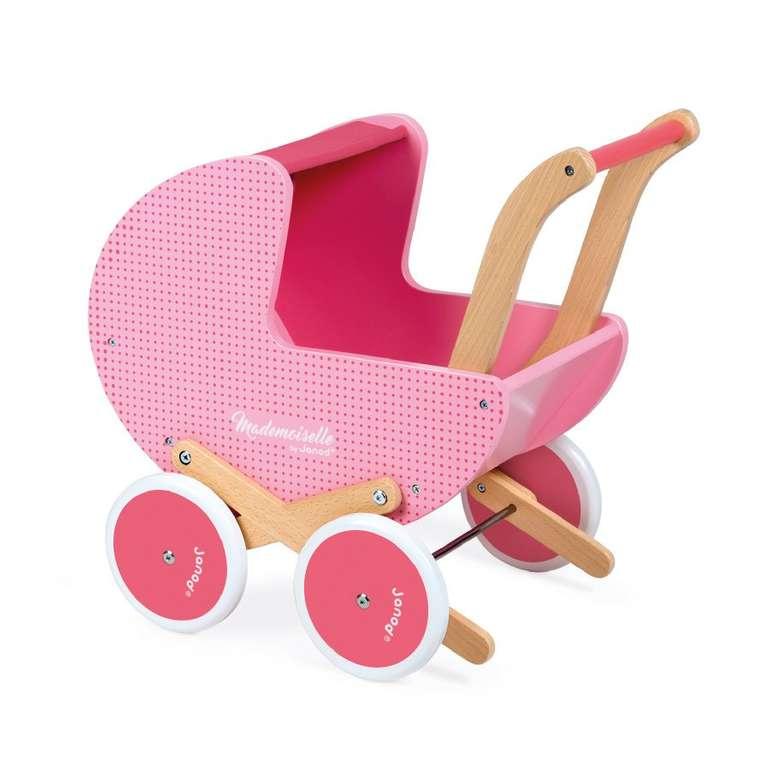 Janod Puppenwagen Mademoiselle für 44,90€ inkl. Versand (statt 65€)