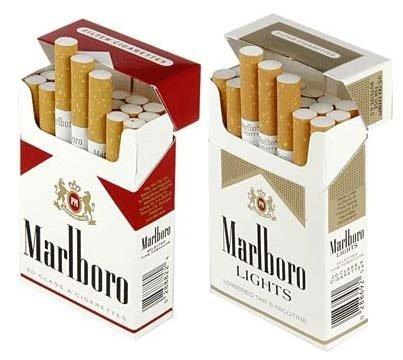 Kostenlose Zigaretten von Marlboro