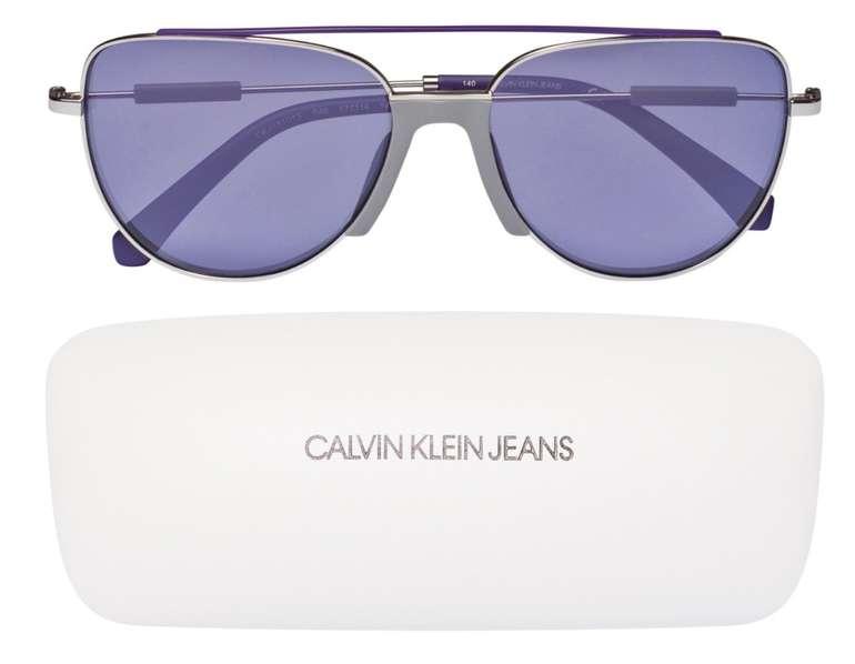 Calvin Klein Jeans Sonnenbrille CKJ18101S-046 für 40,94€ inkl. Versand (statt 55€)