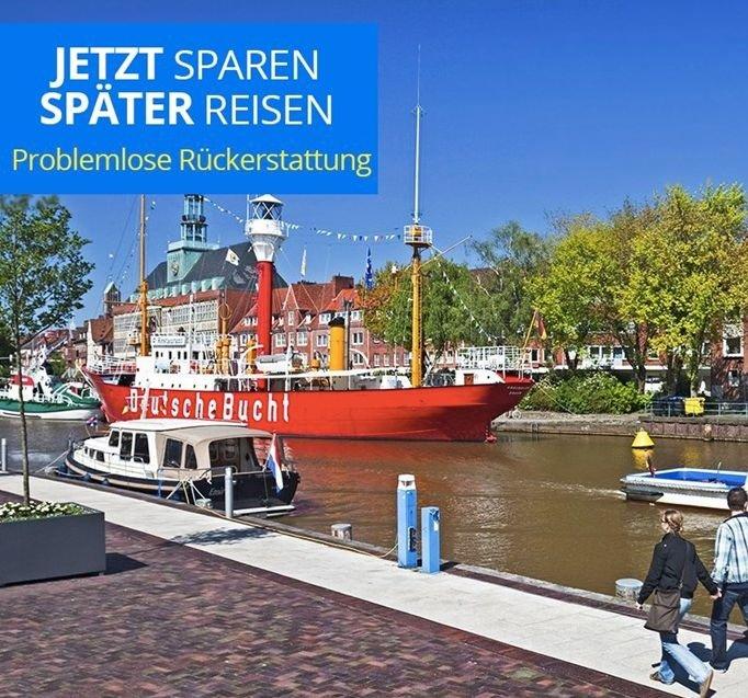 Ostfriesland: 4* Upstalsboom Parkhotel ab 2 Nächte inkl. Frühstück, 1 Dinner & Prosecco bis März 198€