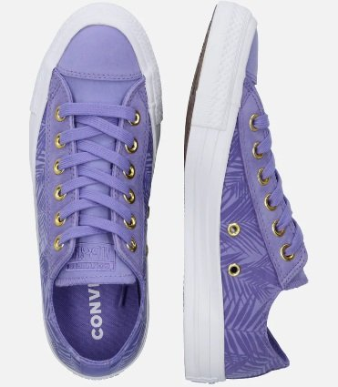 Converse Sneaker 'Lift Ox' in lila für 24,71€ inkl. VSK