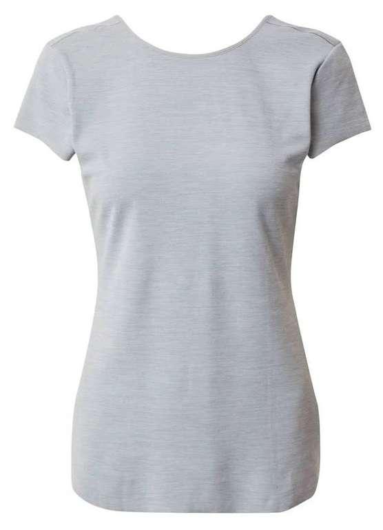 Nike Damen Sportshirt in Hellgrau für 26,90€ inkl. Versand (statt 45€)