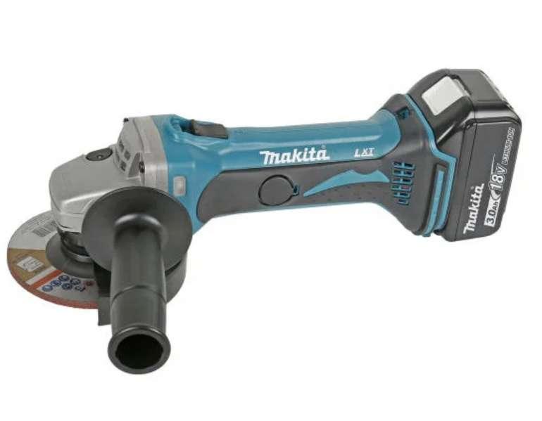 Makita DGA452RFJ Akku-Winkelschleifer 18 V für 199€ inkl. Versand (statt 239€)