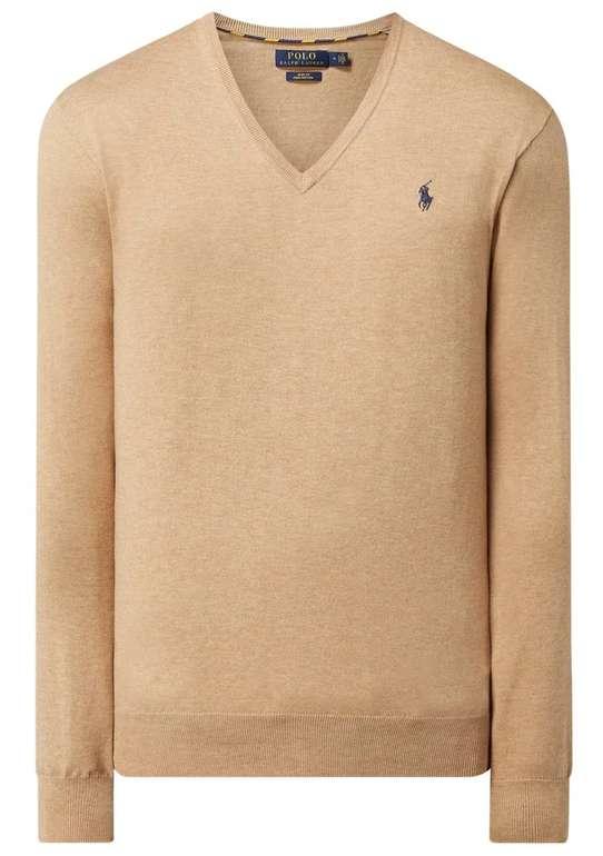 Polo Ralph Lauren Strickpullover aus Pima-Baumwolle (versch. Farben) für je 99,99€ (statt 130€)