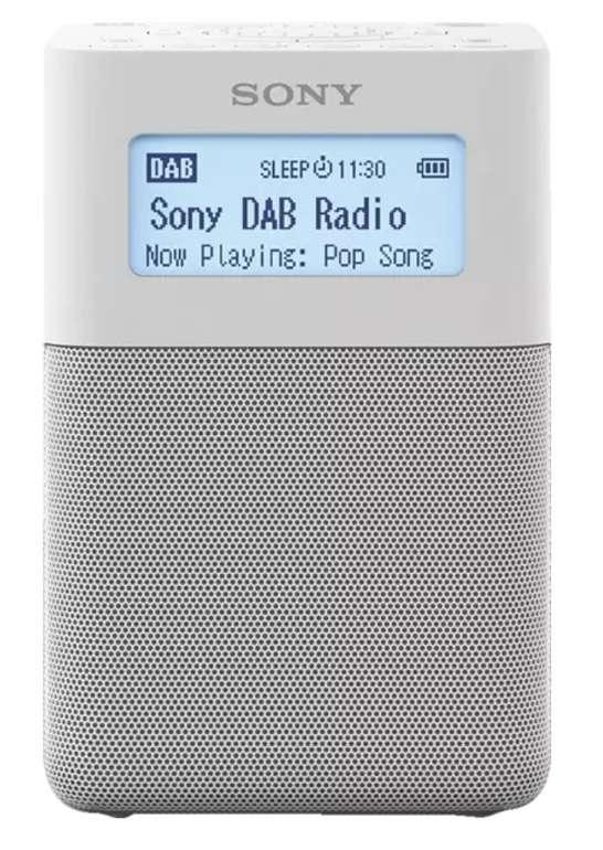 Sony XDR-V20D Radio (PLL-Synthesizer, FM, DAB+, DAB) in Weiß für 99,90€inkl. Versand (statt 116€)