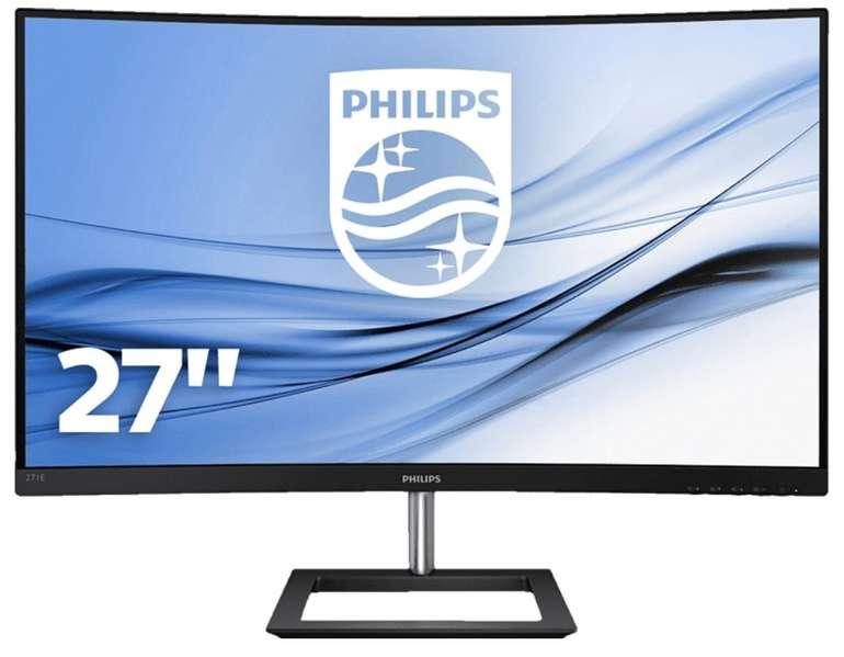 Philips 271E1CA/00 - 27 Zoll Full-HD Monitor (4 ms Reaktionszeit, 75 Hz) für 139€ inkl. Versand (statt 168€)