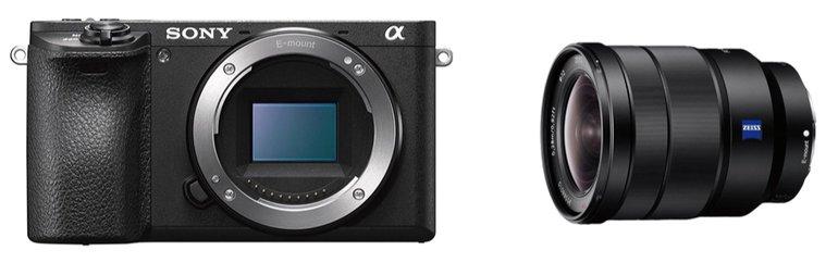 Sony Alpha 6500 für 855€ (statt 1.279€) & Sony Zeiss 16-35mm 889€ (statt 1.188€)