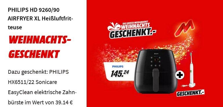 Philips HD 9260 90 Airfryer XL Heißluftfritteuse