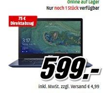 Media Markt: Acer Swift 3 Notebooks reduziert, z.B. SF314-52-33VV für 526€