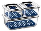 3-tlg. WMF Top Serve Frischhalte- & Serviersystem Set + Abtropfgitter für 37,15€